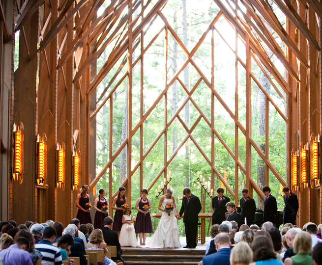 The Perfect Arkansas Weddings At Garvan Woodland Gardens