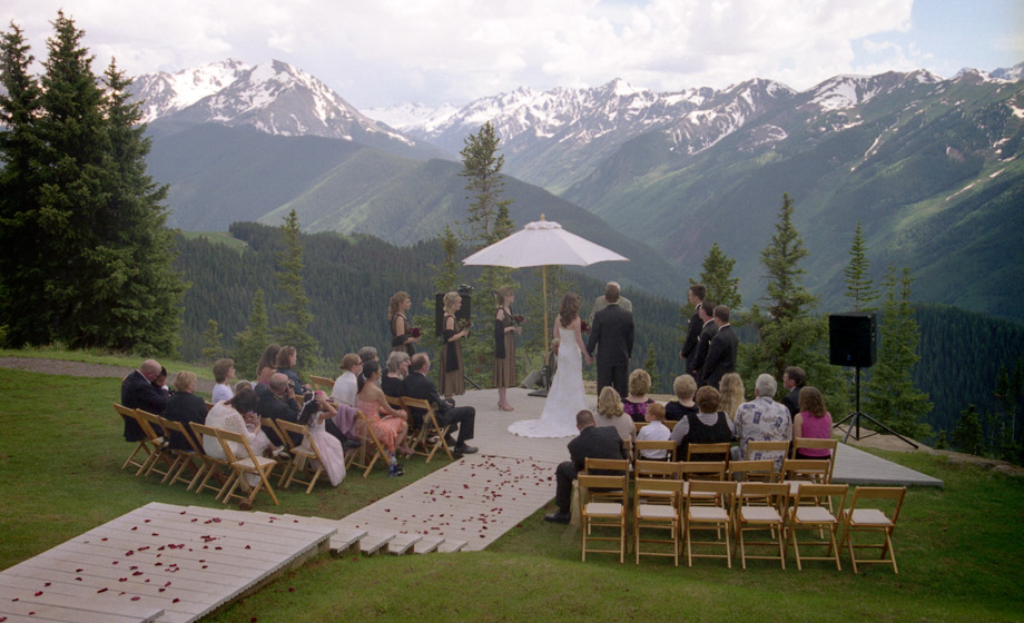 Colorado weddings share a happy day for Best colorado mountain wedding venues
