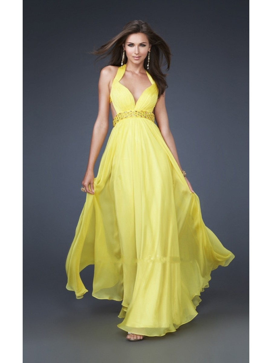 Special Yellow Wedding Dresses For Florida Weddings