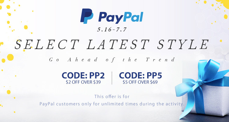 Paypal Select Latest Style