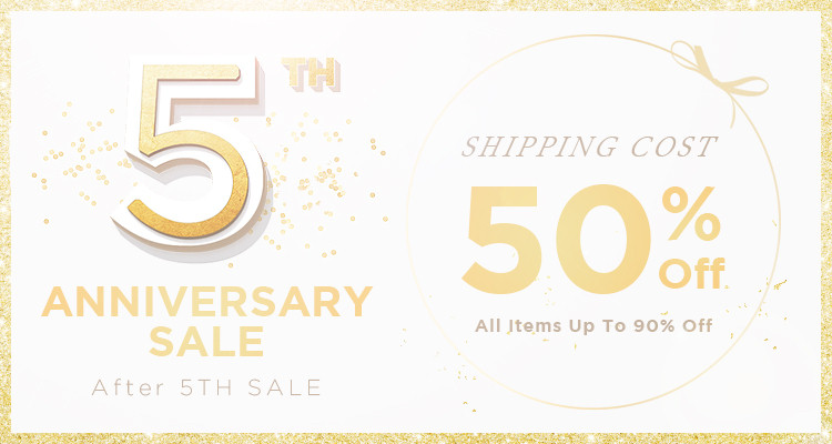 After 5th Anniversary Sale
